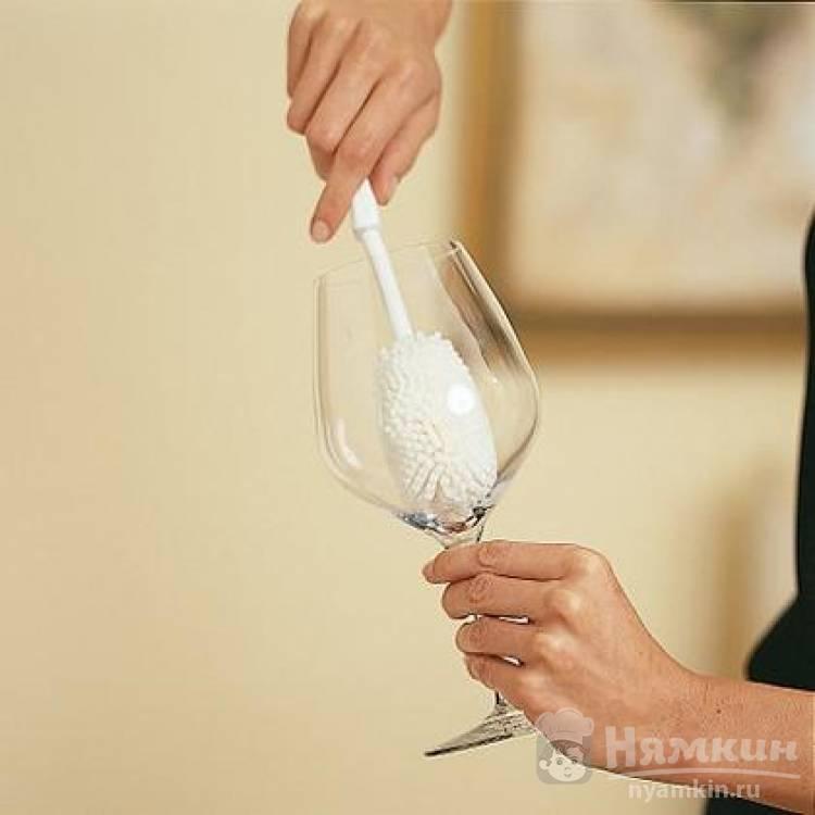 Как мыть прозрачные фужеры, рюмки и бокалы, чтобы не было пятен