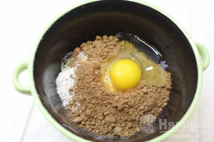 Кекс за 2 минуты в микроволновой печи - фото шаг 3