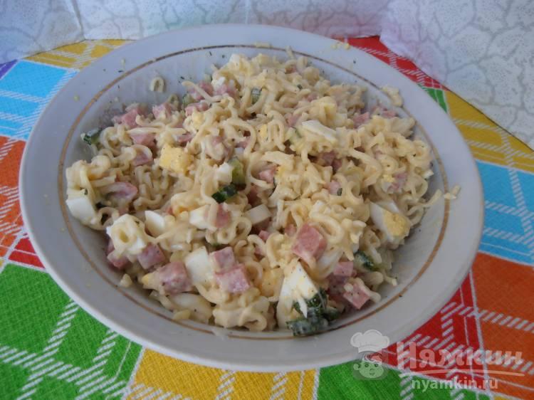 Салат из сырных корзиночек рецепт фото или