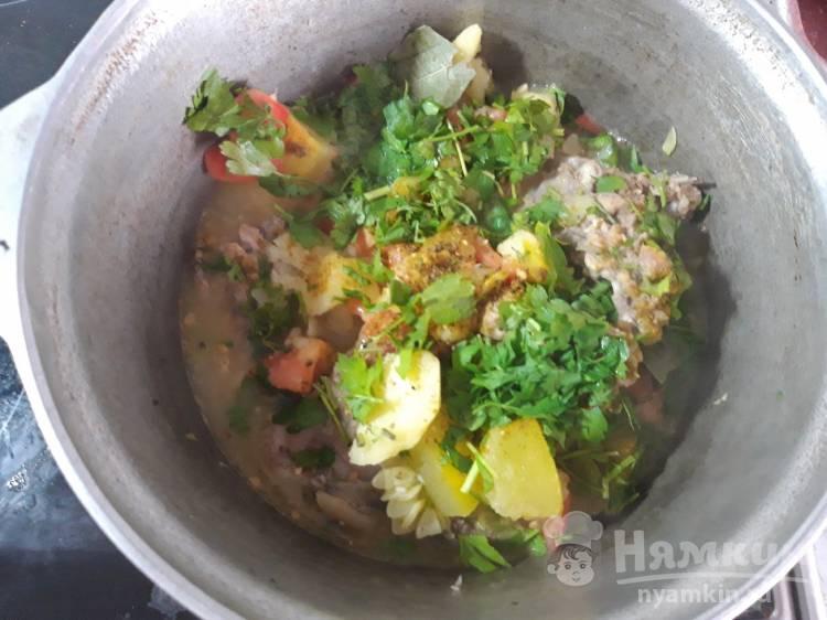 счастье тушеные овощи в казане рецепт с фото сайта это