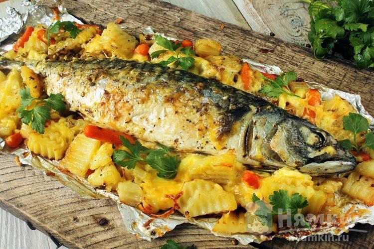 Как правильно запечь рыбу в духовке