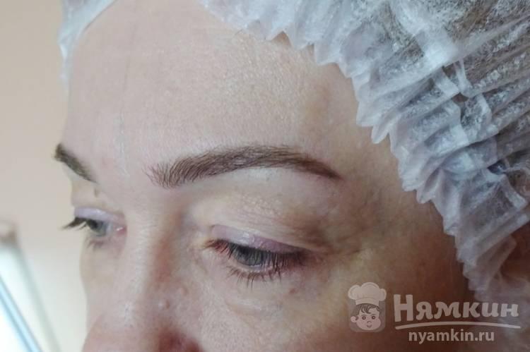 Можно ли красит брови краской для волос отзывы