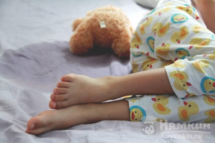 Когда ребенок перестает писать во сне