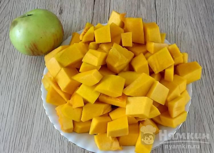 Каша пшенная с тыквой и яблоком - фото шаг 1