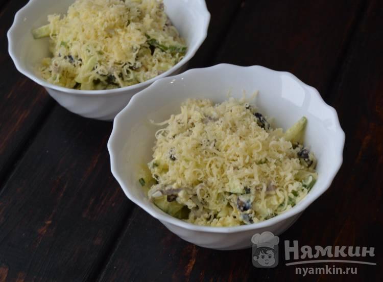 Салат с говядиной и черносливом  - фото шаг 4