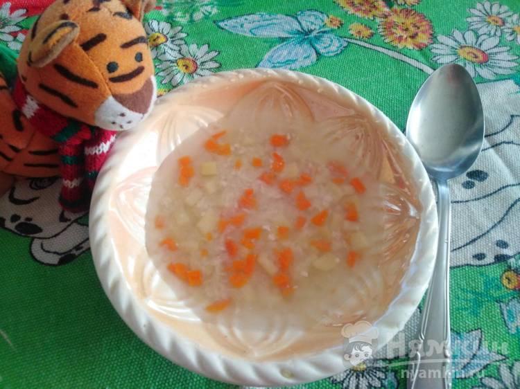 Суп индюшиный с грибами - Грибной суп от 1001 ЕДА | 562x750