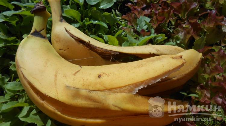 настой из банана для рассады