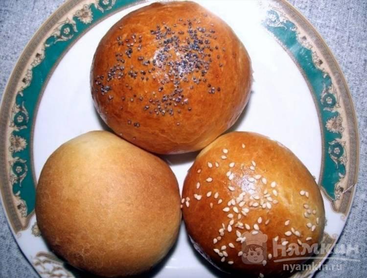 Булочки простые в хлебопечке