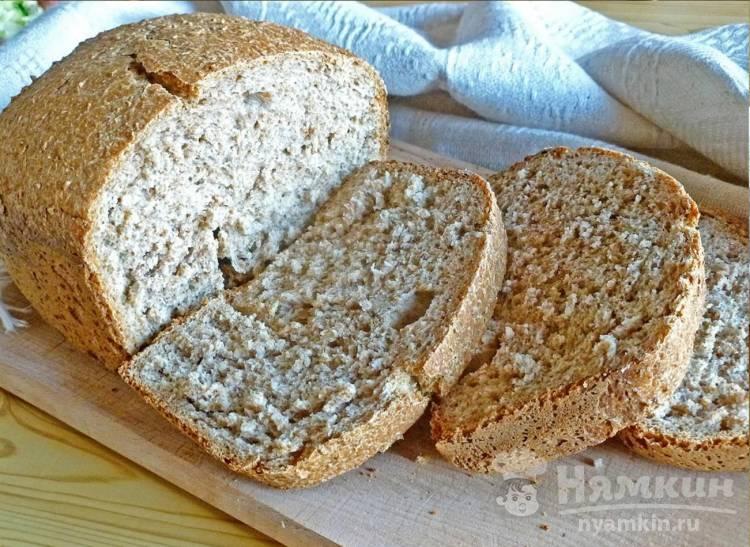 Хлеб с пшеничными отрубями в хлебопечке