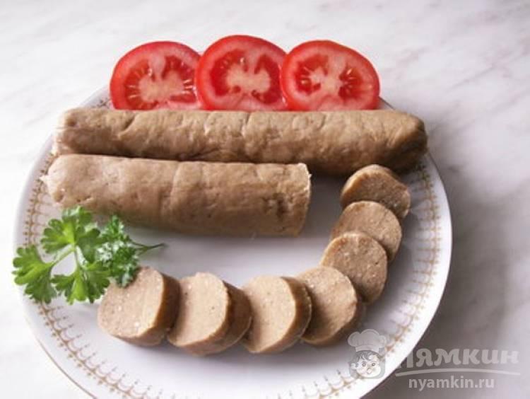 Сосиски вегетарианские на пару