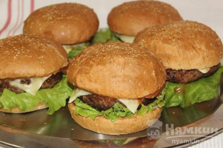 Домашние чизбургеры как в Макдональдсе