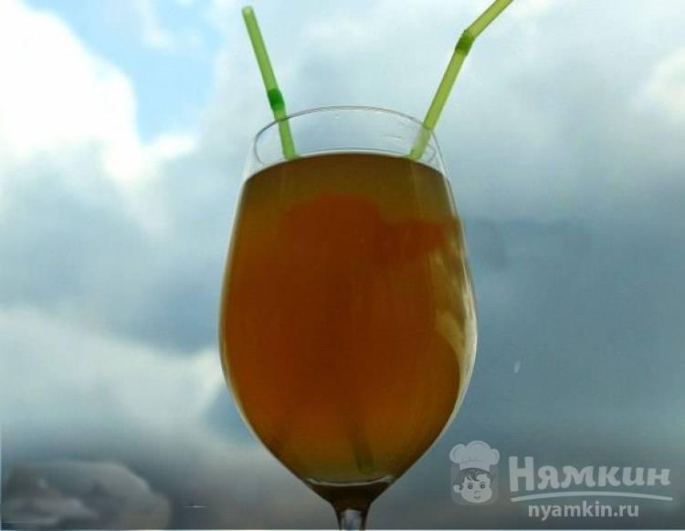 Лимонад на имбирно-лаймовом соке