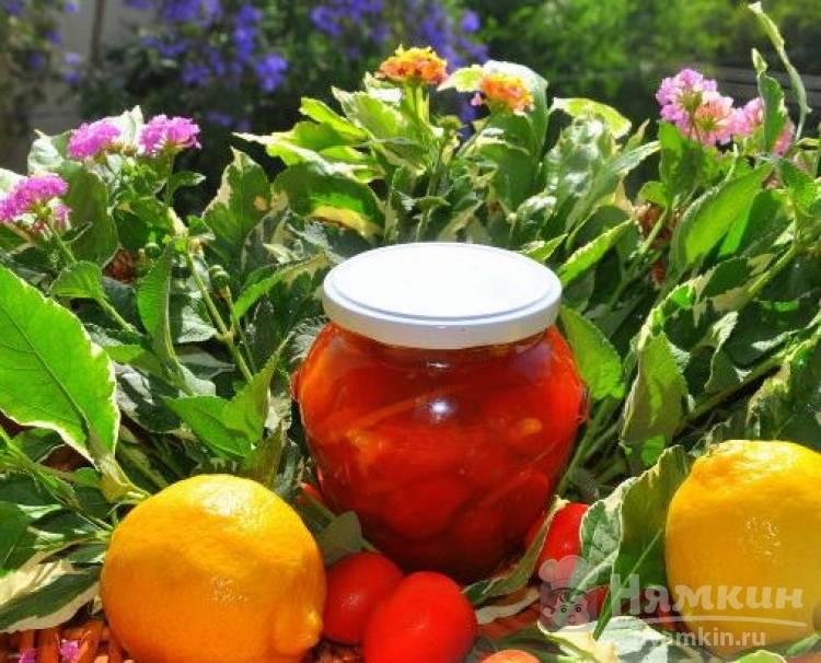 Варенье из помидор черри