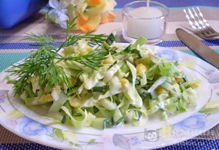 Овощной летний салат