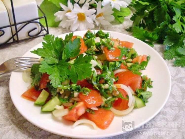 Овощной салат на пикник