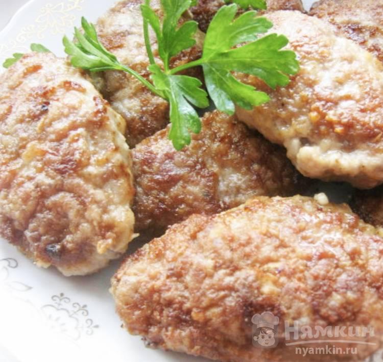Котлеты из свинины с сыром в духовке