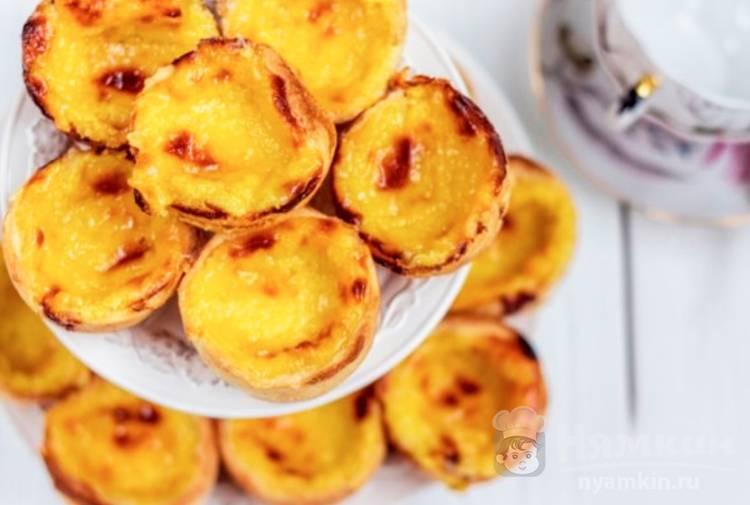 Португальское заварное пирожное Паштейш де Белем