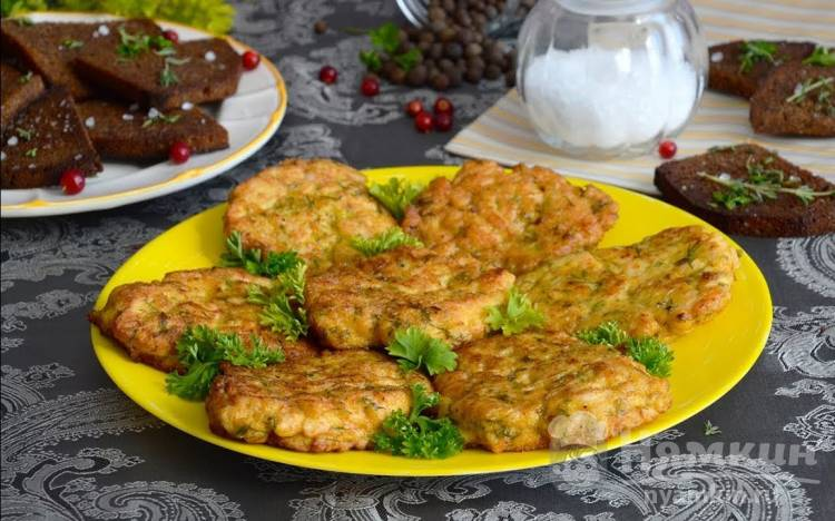 Котлеты из куриного филе по-албански