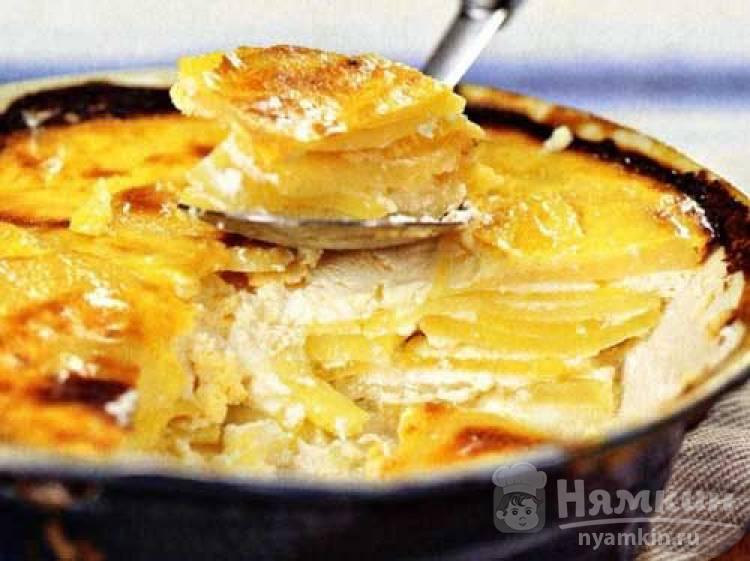 Запеченный картофель по-болгарски