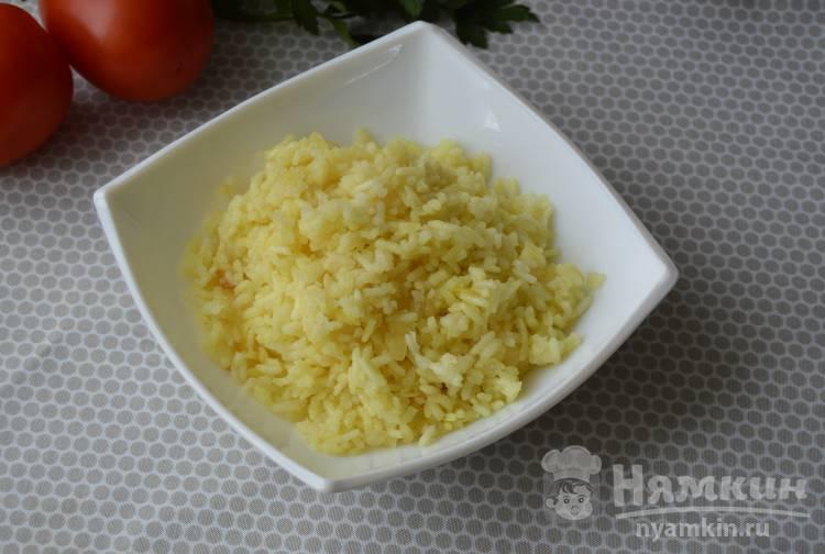 Рассыпчатый рис для детского меню
