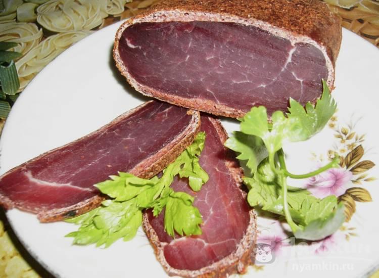 Домашняя бастурма из свинины