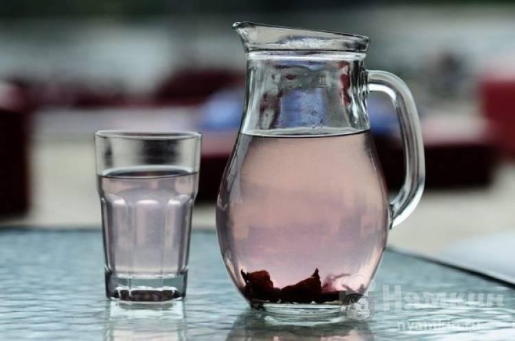 Летний напиток из базилика