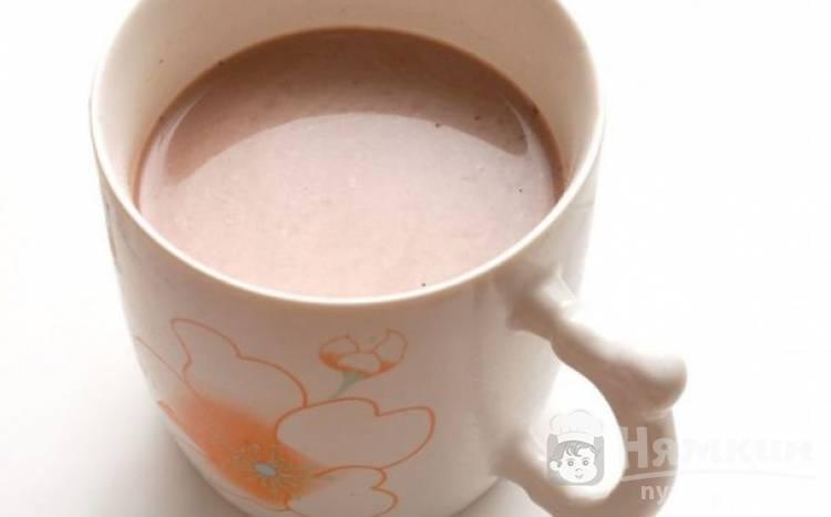Какао на молоке в микроволновке