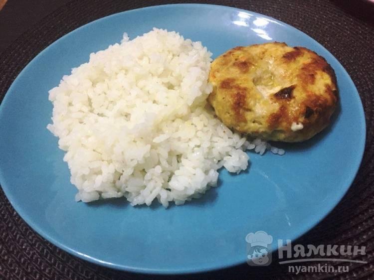 Домашние мясные котлеты с сыром