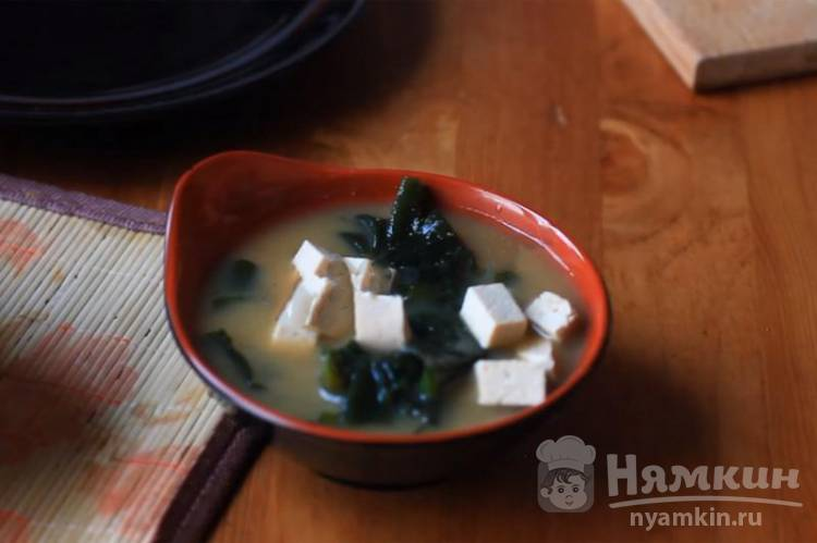 Японский суп вакаме