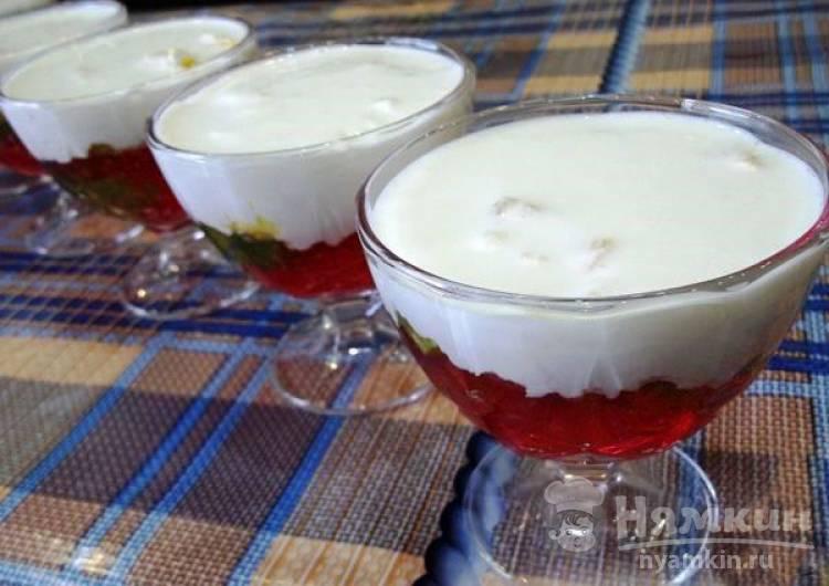 вот желейный десерт со сметаной с фото пошагово схожу ума из-за
