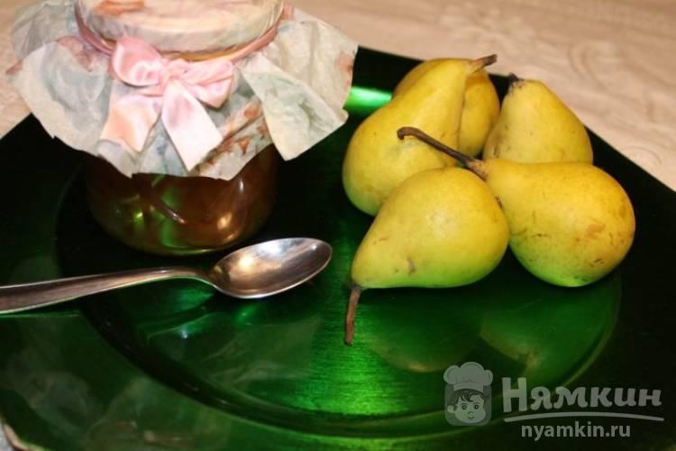 Варенье из груш с лимоном и корицей