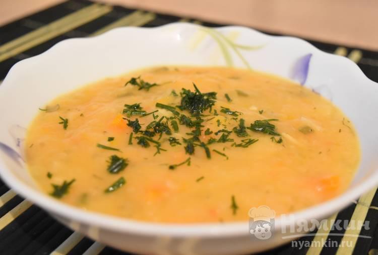 Крем-суп из патиссонов