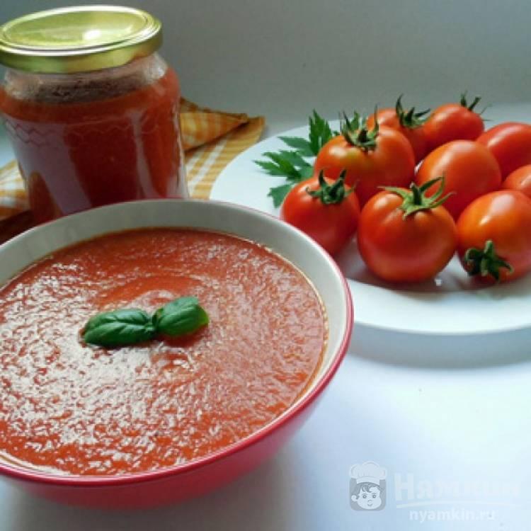 Домашний кетчуп из помидоров с корицей на зиму