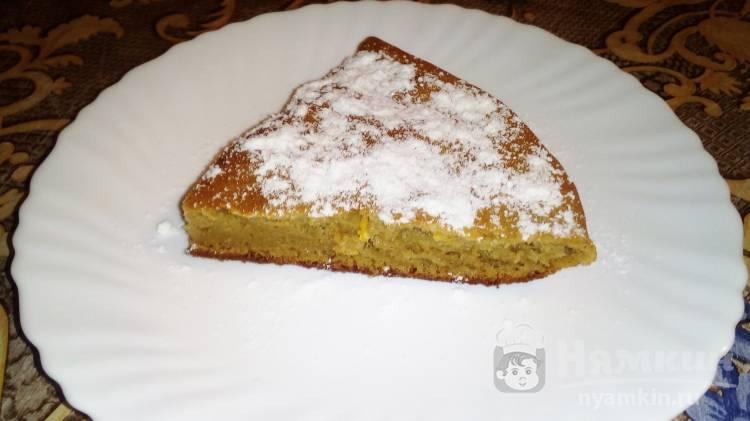 Нежный пирог из детского пюре