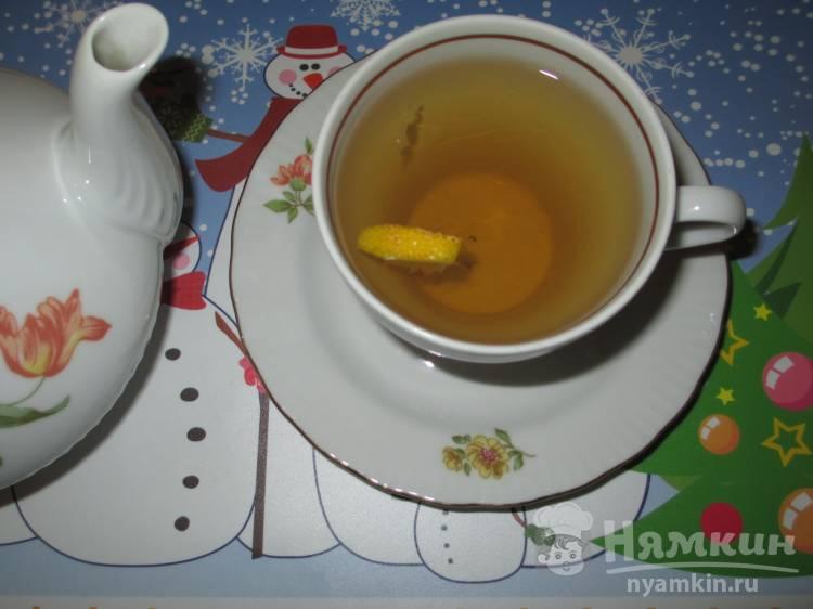 имбирь с лимоном для иммунитета чай
