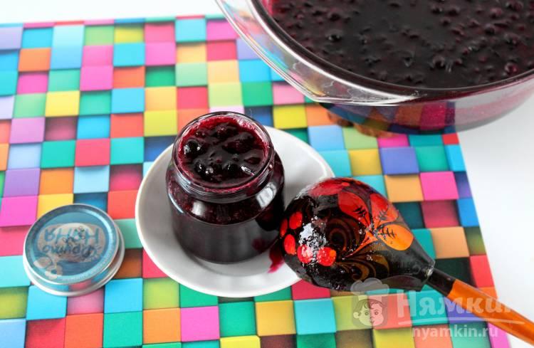 Черносмородиновый джем из замороженной ягоды