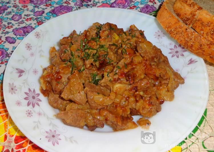 Свинина в горчичном соусе рецепт с фото