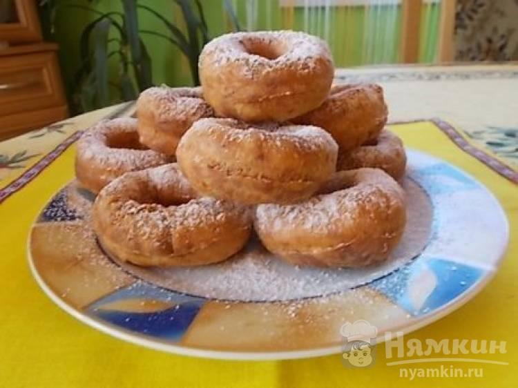 Пончики из творога на растительном масле