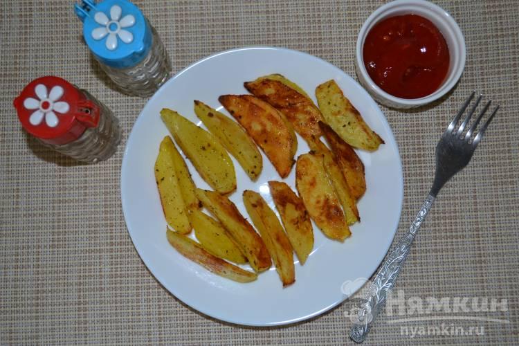 Вкусная картошка по-деревенски в духовке