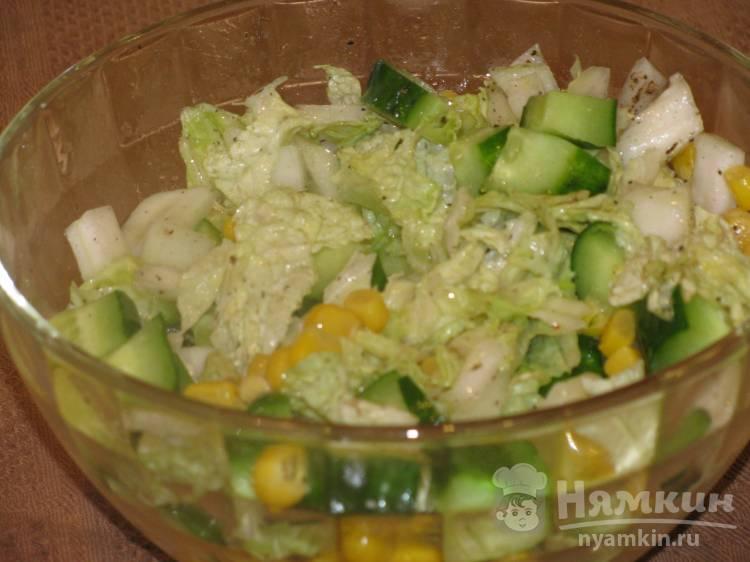 Салат из капусты по-пекински