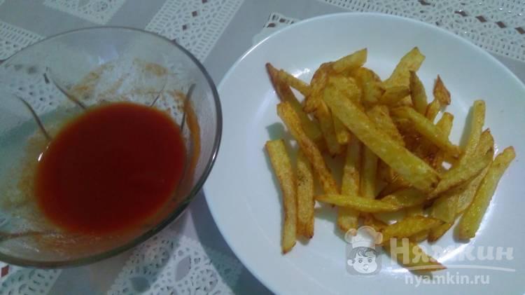 Картошка фри в кастрюле по-домашнему