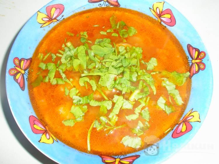 Куриный суп с паприкой