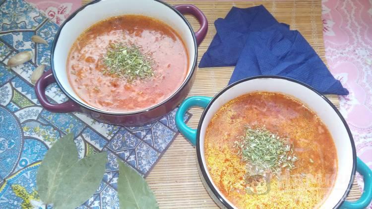 Суп быстрого приготовления в мультиварке