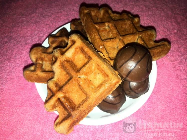Шоколадные венские вафли