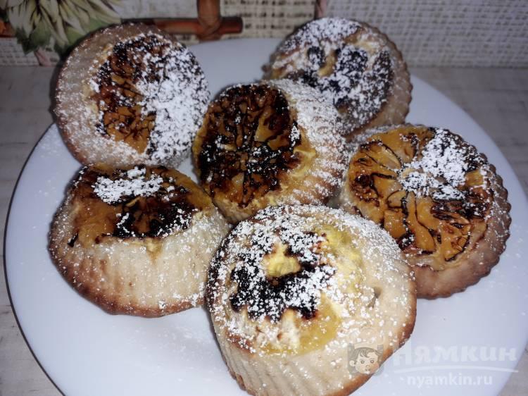 Сливочные кексы с мандарином