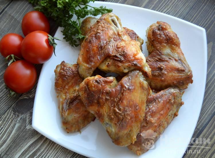 Куриные крылышки в сметанном маринаде