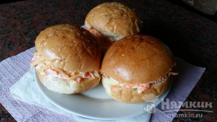 Домашние гамбургеры с сыром и морковью