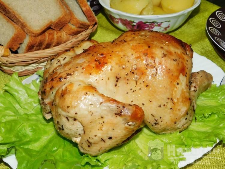 Курица в соево-горчичном маринаде