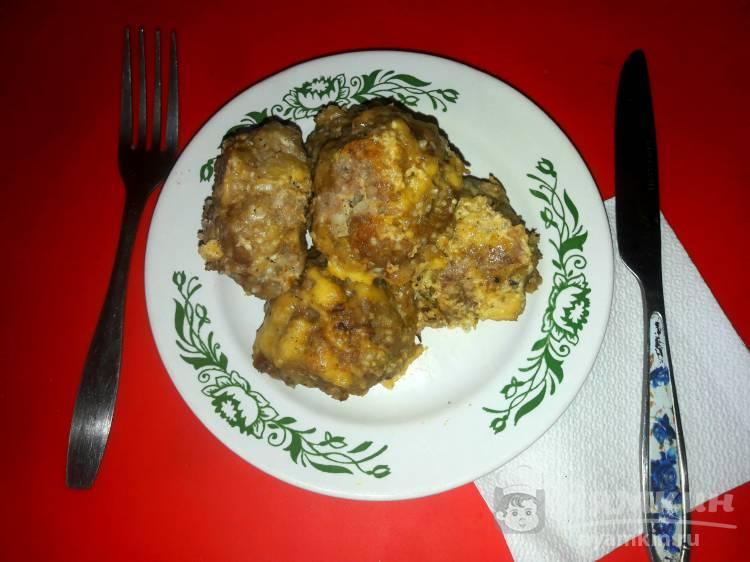 Тефтели запеченные под сыром