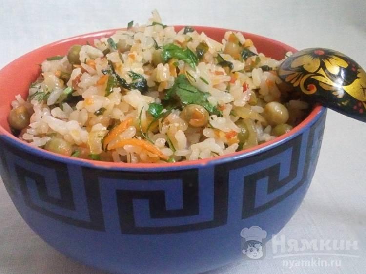 Ленивый рис с овощами